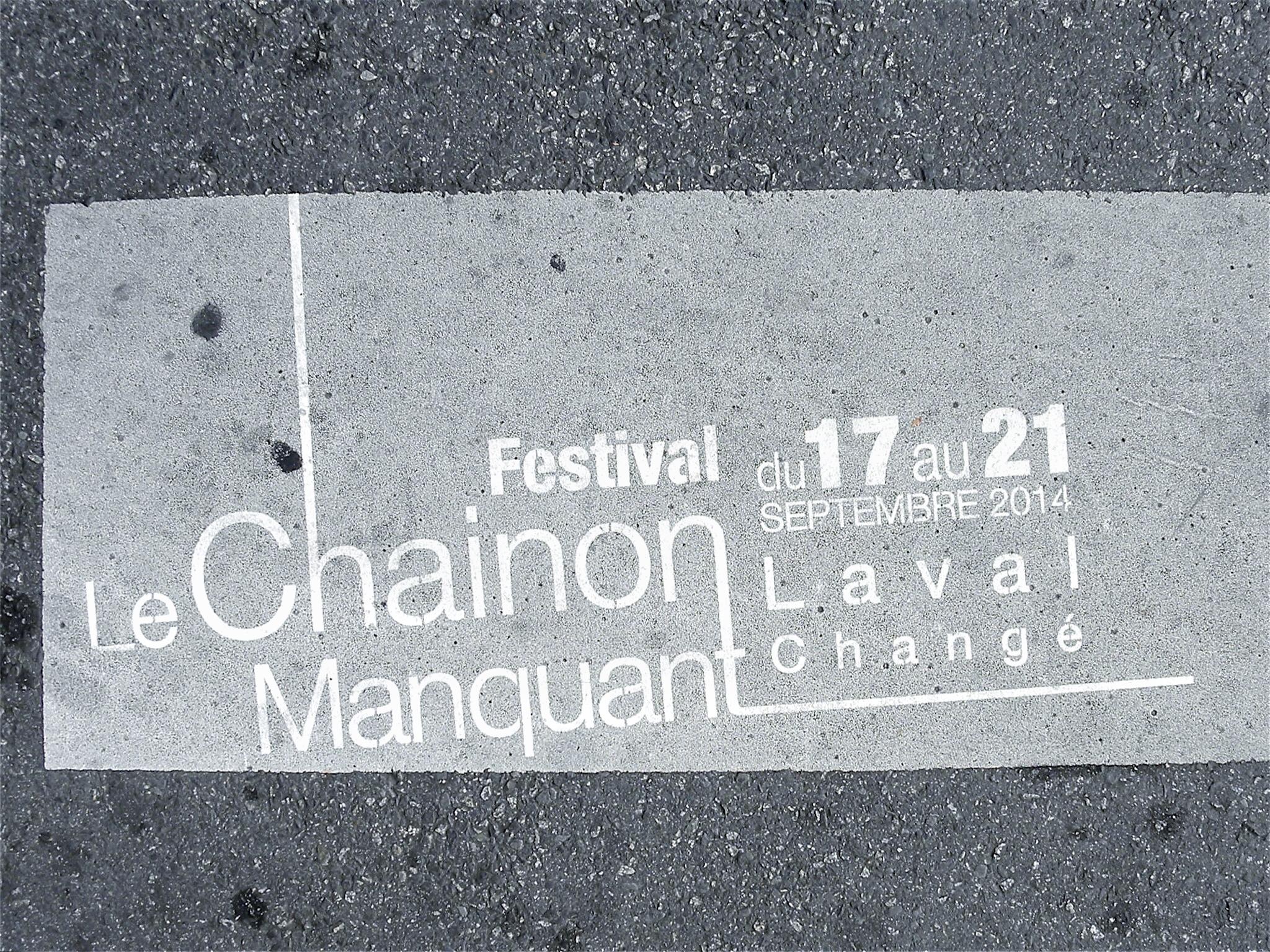 LE CHAINON/FNTAV – LE CHAINON MANQUANT 2014