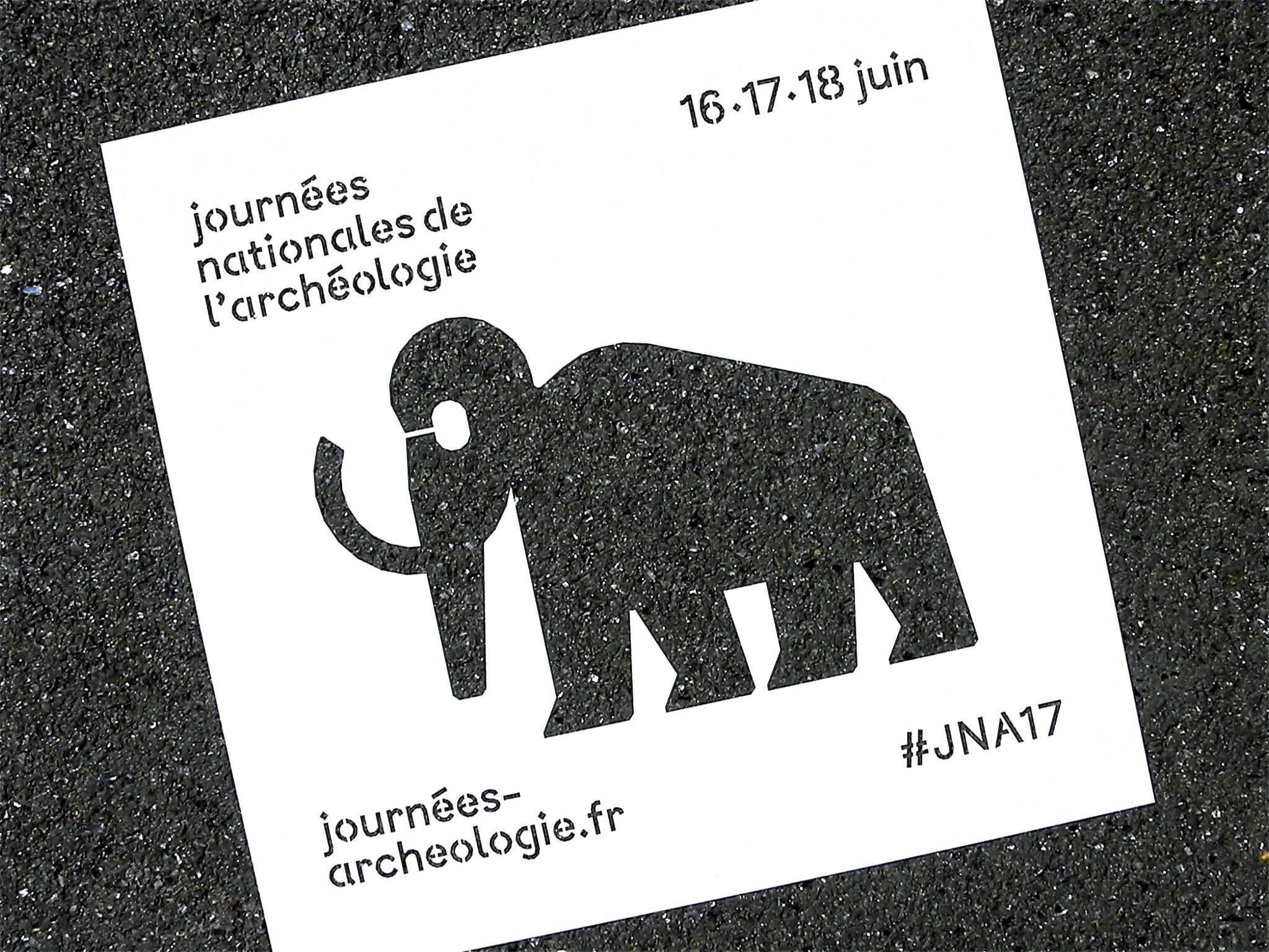 INRAP – JOURNÉES NATIONALES DE L'ARCHÉOLOGIE 2017