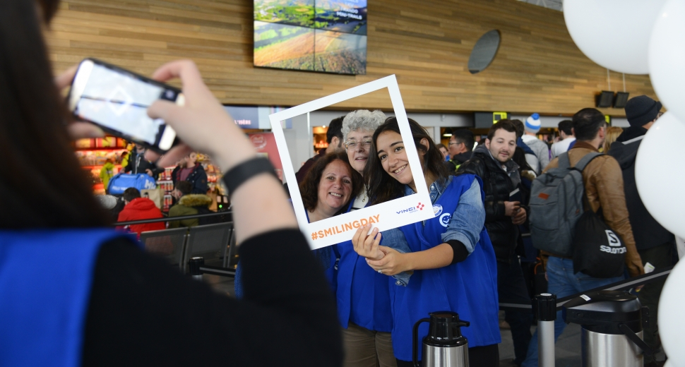 VINCI AIRPORTS – SMILING DAY 2018